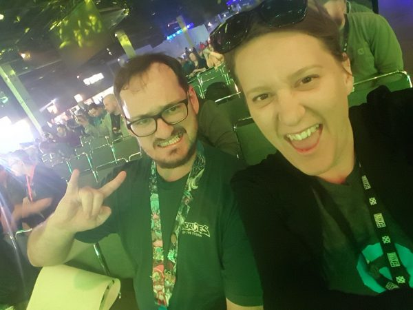 Disconcur and I at BlizzCon in 2016